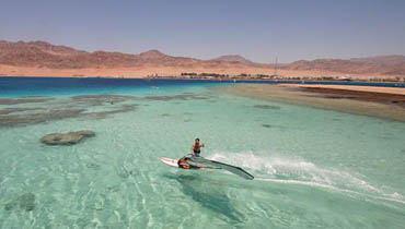 Surfen in Dahab
